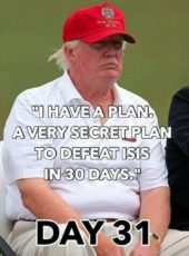 Secret plan for trump