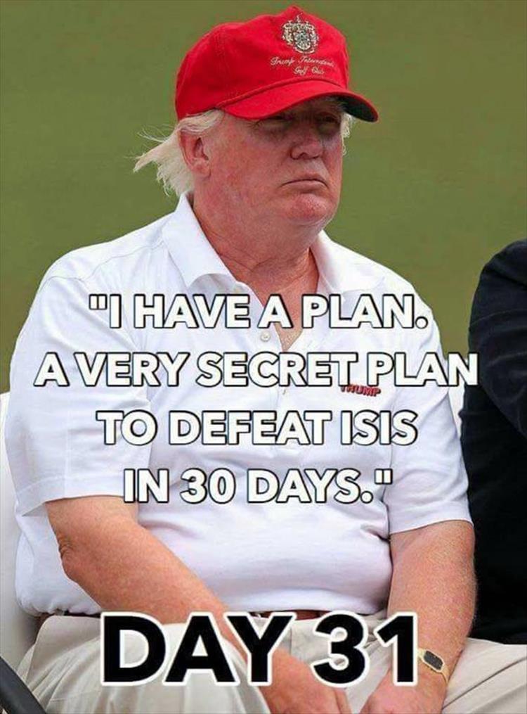 Secret plan for trump
